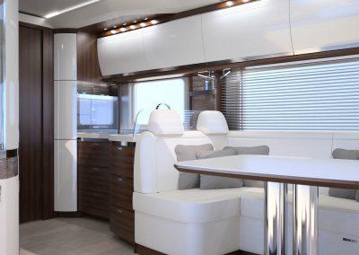 MORELO EMPIRE LINER-NEO NEO__Interieur_Durchsicht Küche