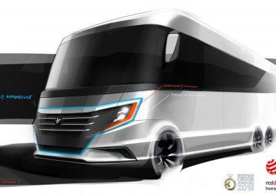 NIESMANN-BISCHOFF ARTO Design Key Sketch Lars Bergmann RV-Design-Motorhome-Design